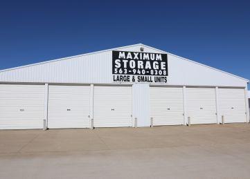 Maximum Storage